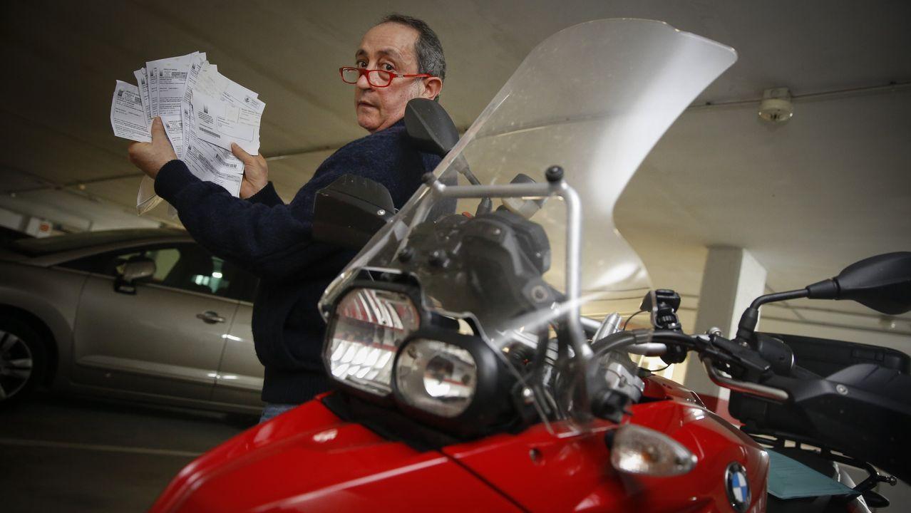 Román, que se enfrenta a un pago de más de 1.000 euros, reclama una mejor señalización del radar