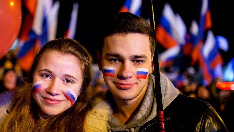 Celebración en Crimea