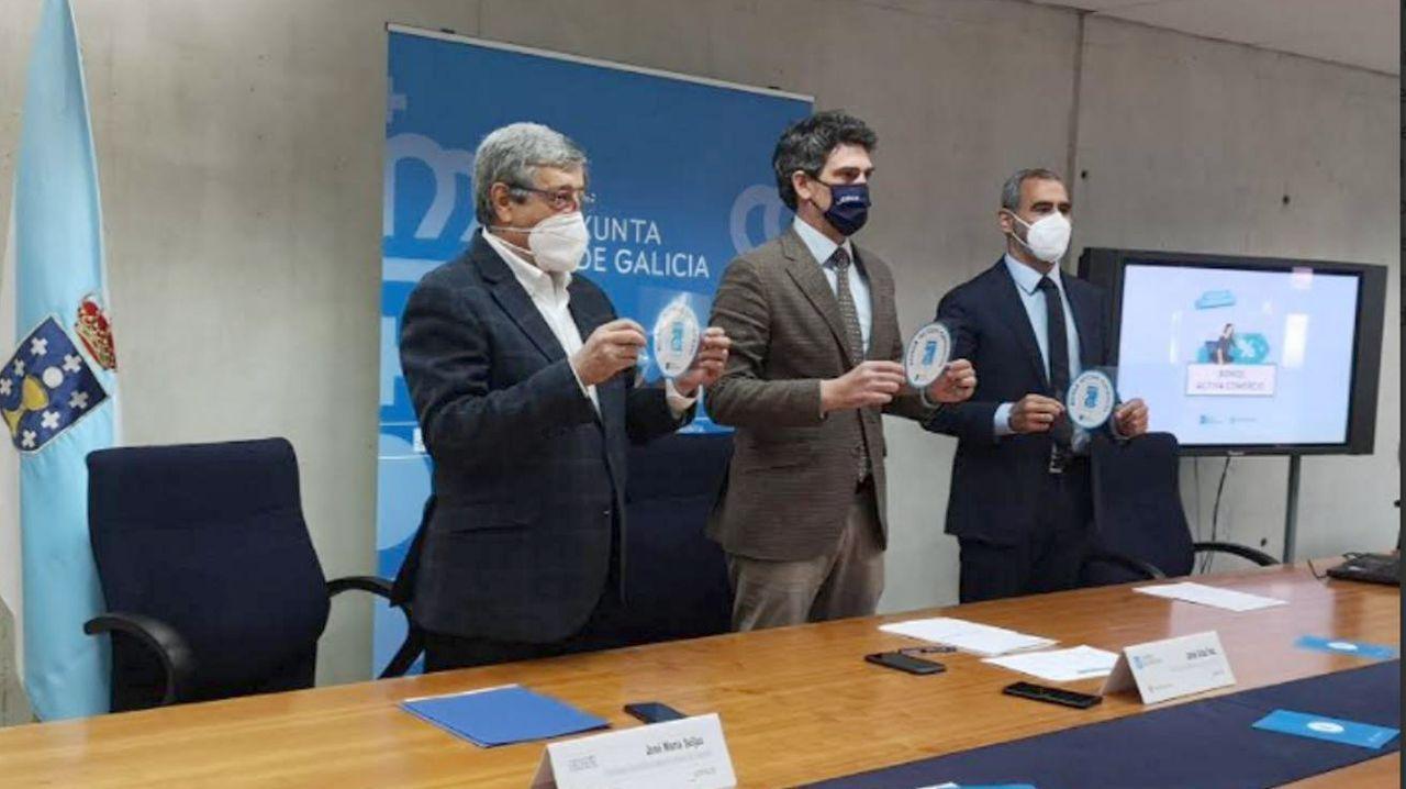 Presentación de la campaña de bonos en Lugo