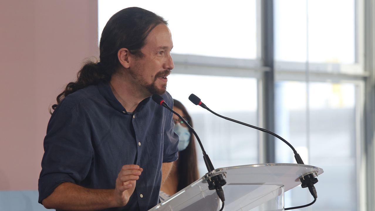 Pablo Iglesias, en una imagen de archivo en A Coruña