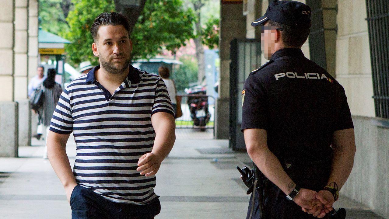 La Manada, ese grupo que nunca ha pasado desapercibido.José Ángel Boza, el tercer miembro de La Manada que se ha presentado ante el juzgado de Sevilla