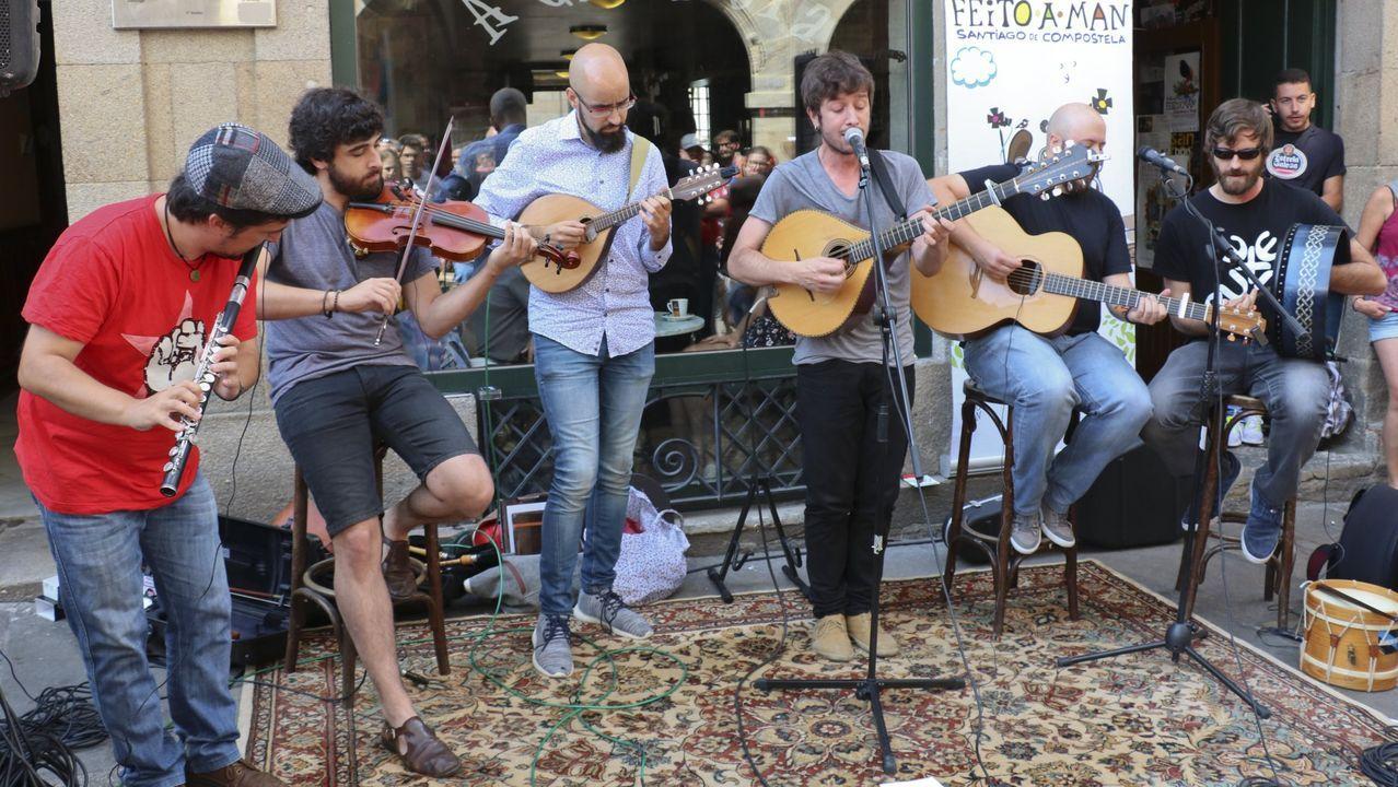 Un concierto de Milladoiro en el municipio coruñés de Zas