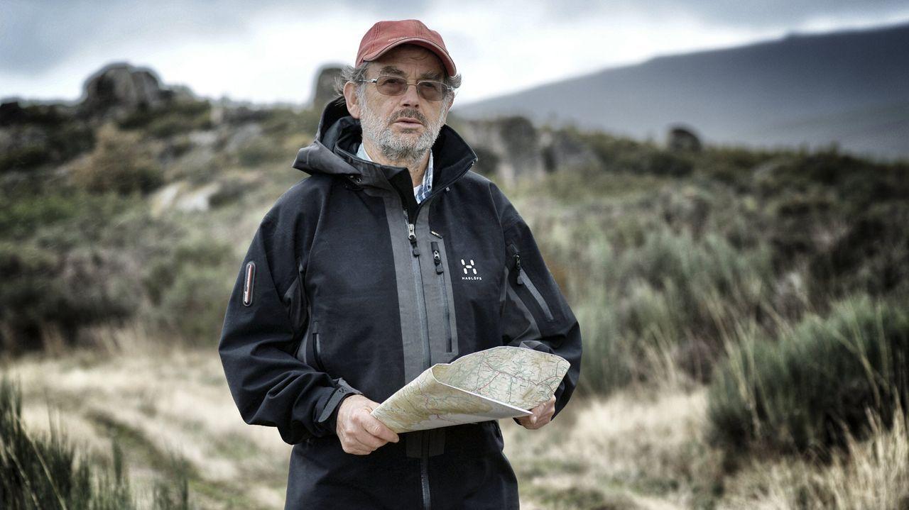 Cholo Fernández presenta un conto sobre a Lagoa da Serpe