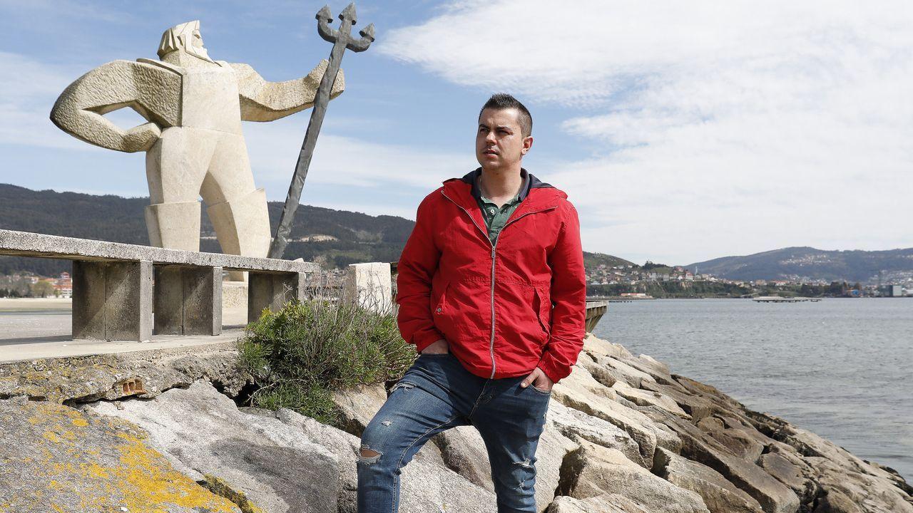 Vacunación masiva en Vigo.Vacunación masiva de gallegos entre 60 y 65 años en el Ifevi (Vigo)