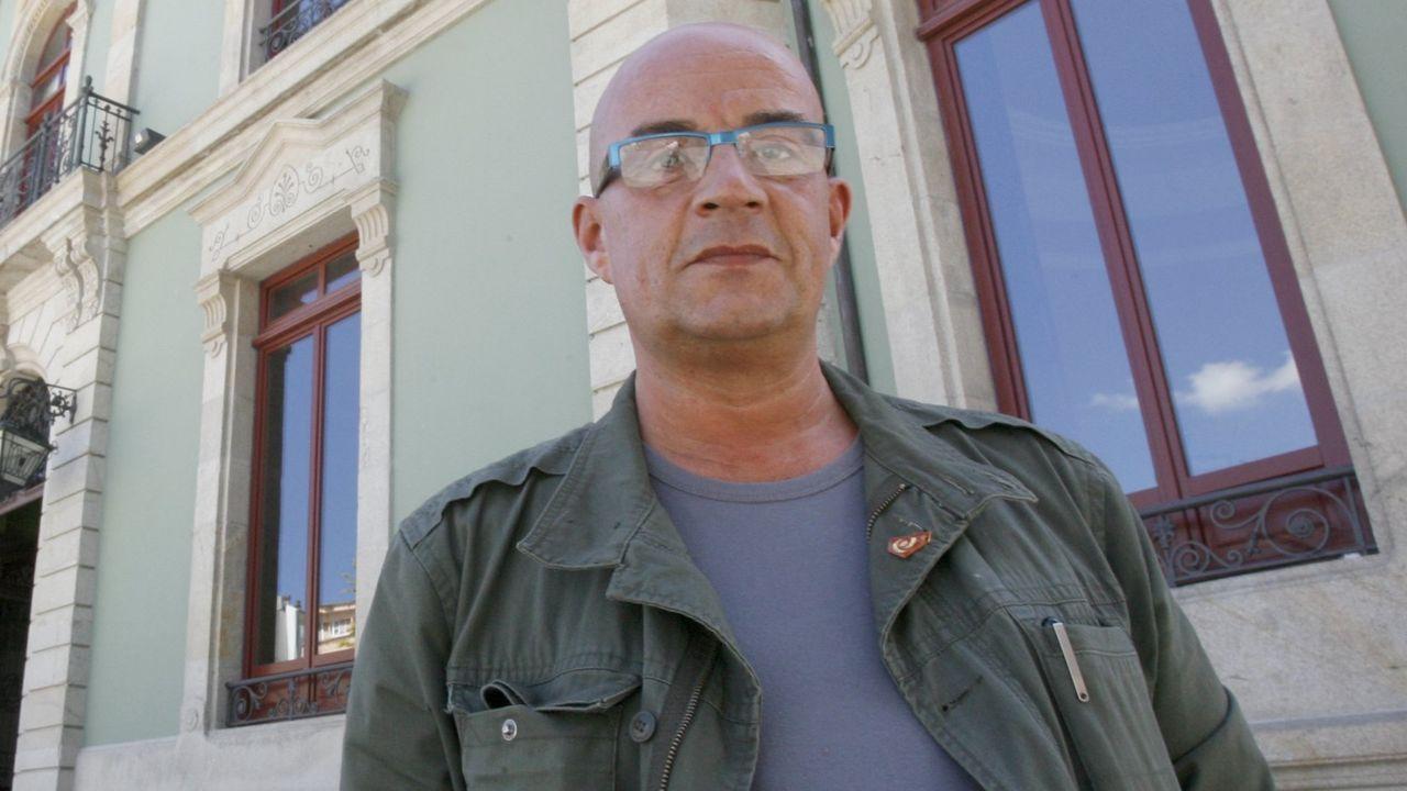 O escritor Emilio Alonso