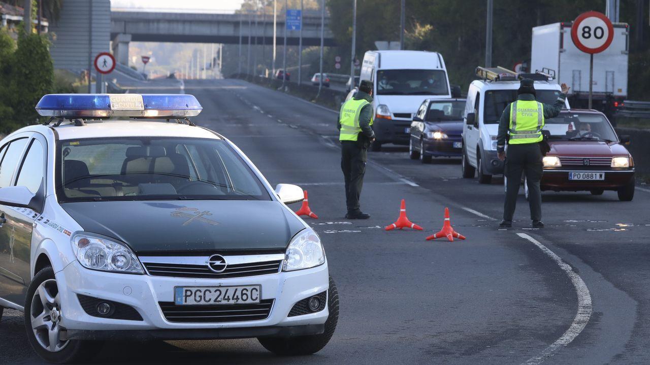 Los controles de carretera se mantendrán para hacer cumplir las normas del estado de alarma
