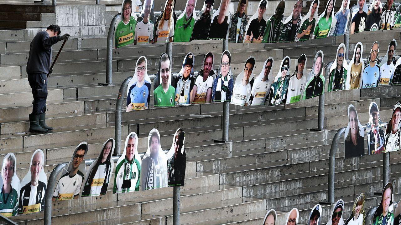 Estadio del Borussia Mönchengladbach .