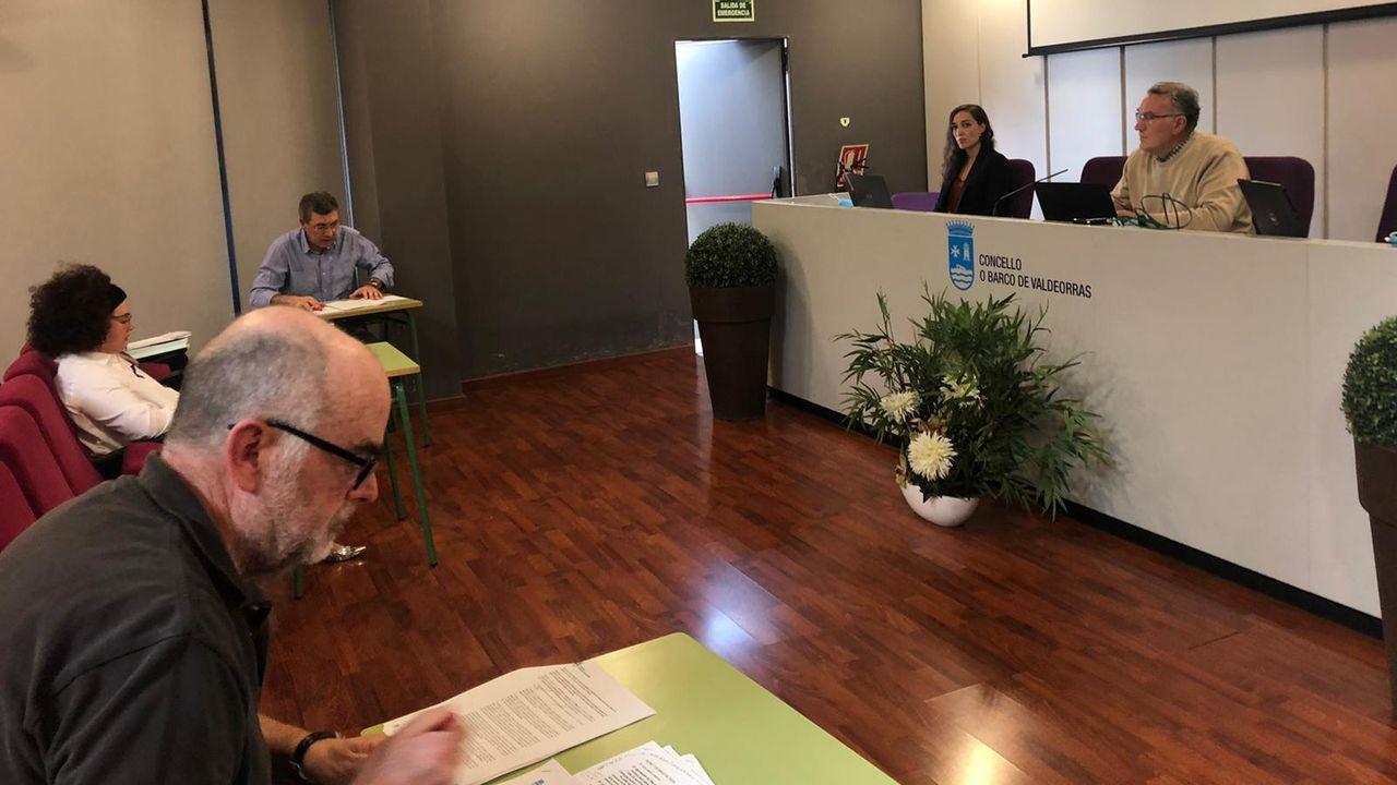 «El parque da un poco de pena, porque está sucio».El alcalde de O Barco, Alfredo García, y el presidente de CHMS, Antonio Quiroga, firmaron el convenio de colaboración