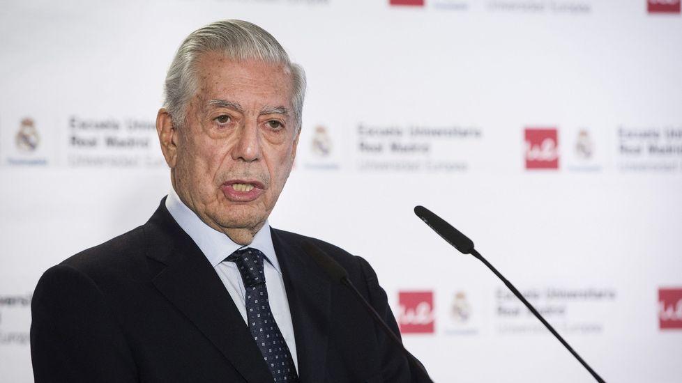 Vargas Llosa: «Estoy separado»