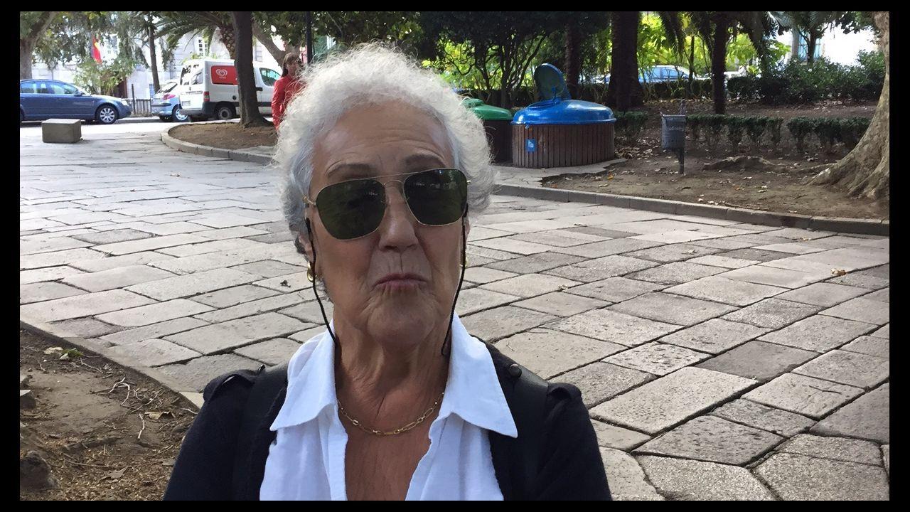 Carmen Senín, vecina de la Ciudad Vieja