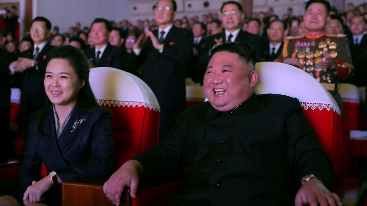 Ri Sol Ju, esposa de Kim Jong Un, ha reaparecido en público tras un año