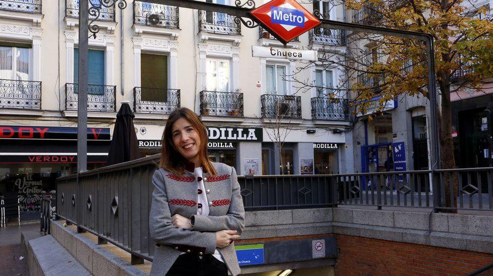Fátima Fernández fue enfermera escolar en Madrid, aunque ahora ha vuelto a los hospitales