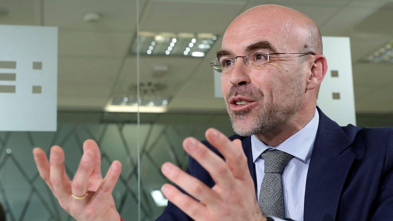 Comparecencia de Pedro Sánchez en el Congreso.Ignacio Cuesta, teniente de alcalde de Oviedo