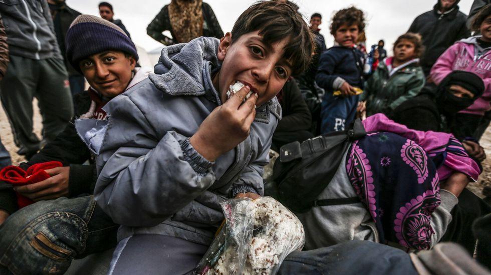 La dura odisea de los refugiados