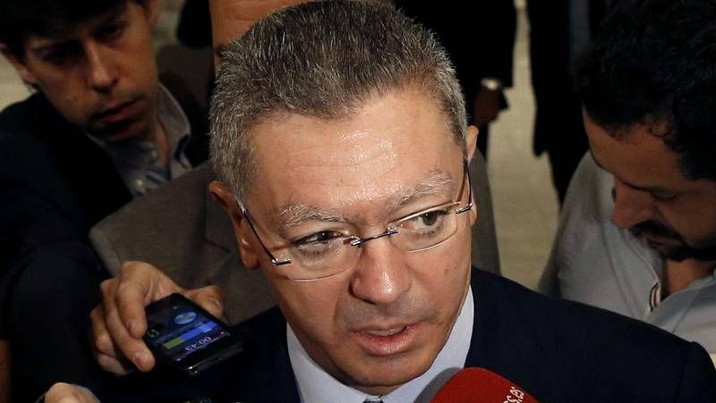 Gallardón evita hablar de su dimisión y aplaza la decisión a la semana que viene