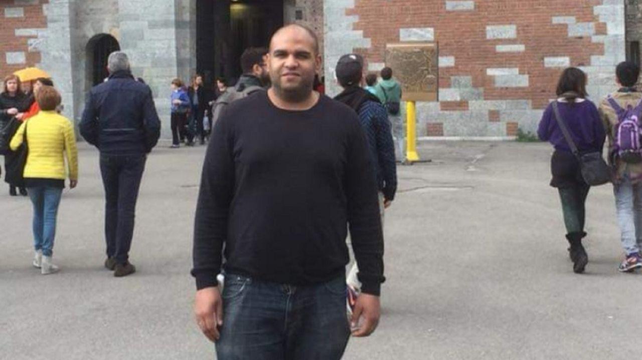 Humberto Teixeira, paciente dado de alta del coronavirus en el área sanitaria de Ferrol.