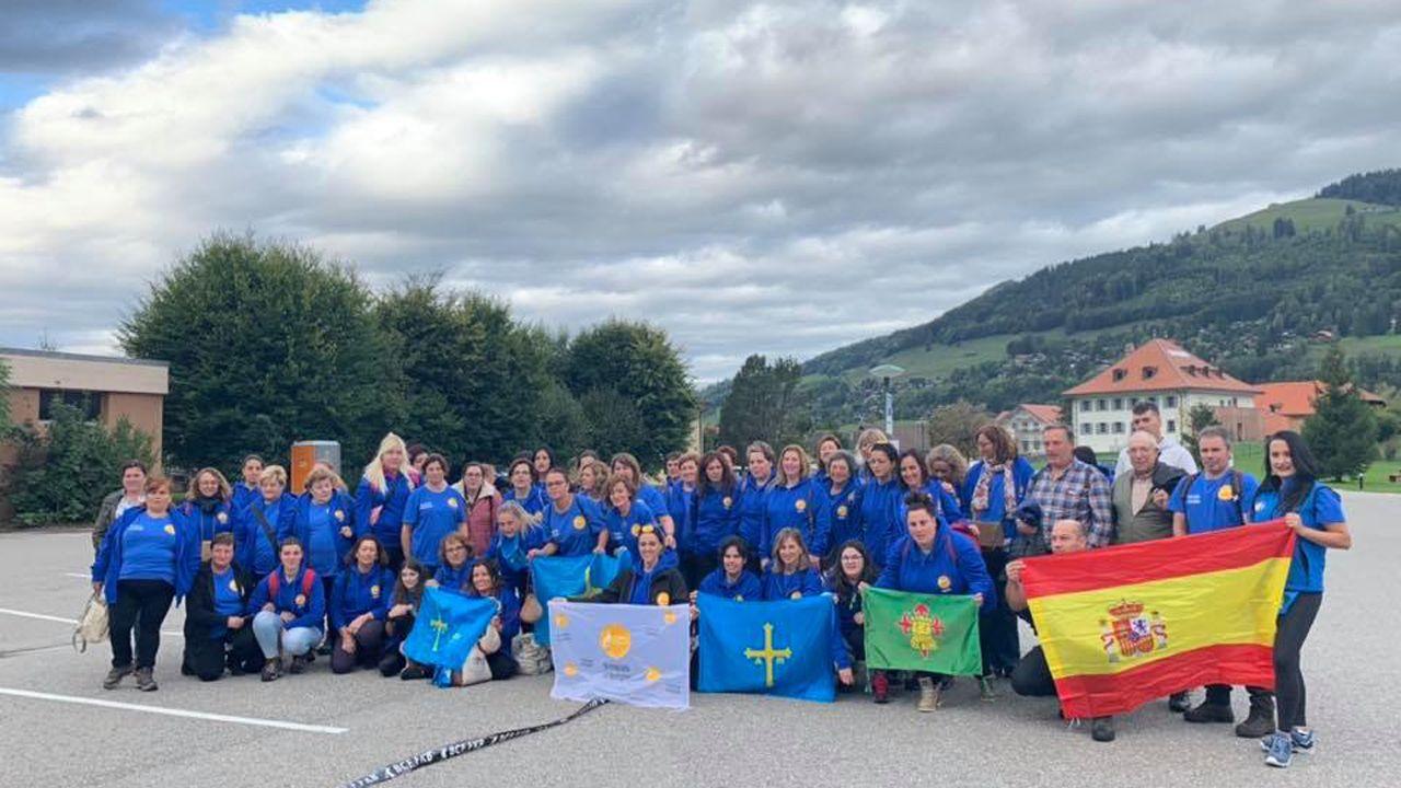 Expedición de ganaderas asturianas a Suiza