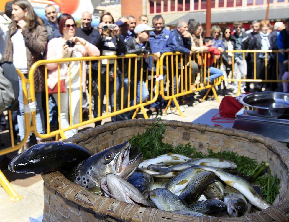 A Pontenova es un referente de la pesca fluvial