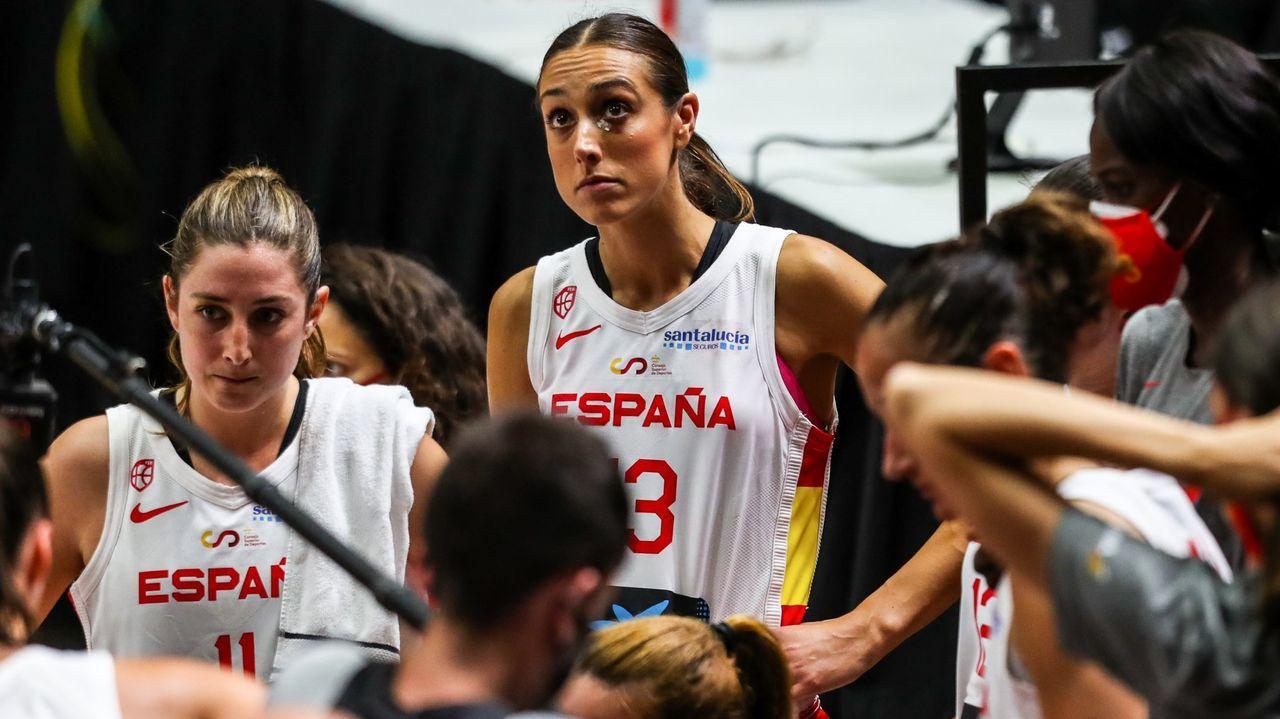 TAMARA ABALDE   Campeona de Europa de Baloncesto