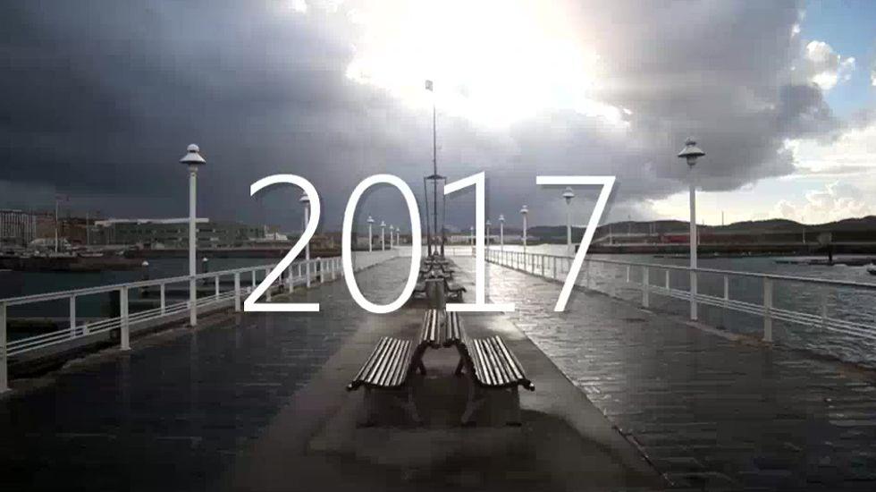 Gijón vende en FITUR 365 días de fiesta y cultura.Un fotograma de «Geometría del Esplendor»