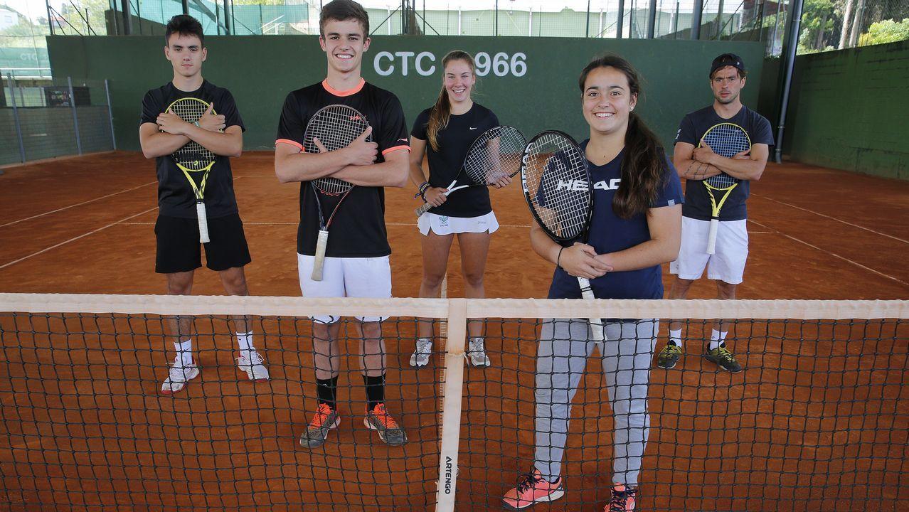 El hijo de Mahut conmueve al mundo del tenis