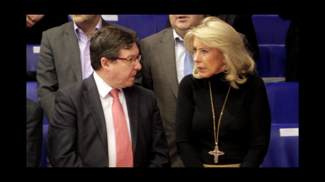 Carlos López Font y Corina Porro, en foto de archivo