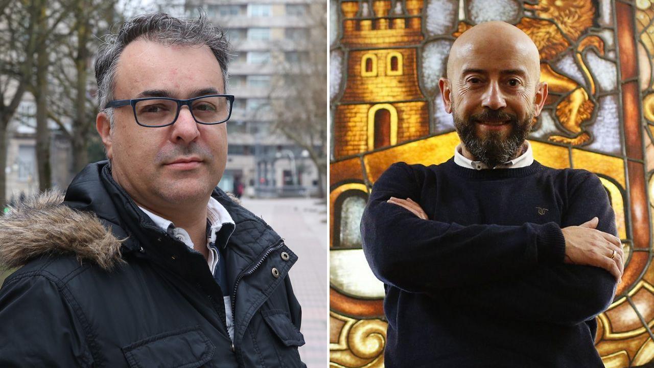 El exlíder de Ciudadanos en Ourense ve la mano de Baltar en el fichaje de Araújo y este lo niega.Antonio Hervella en una foto de 1999, cuando se presentó como candidato a la alcaldía por Coalición Galega