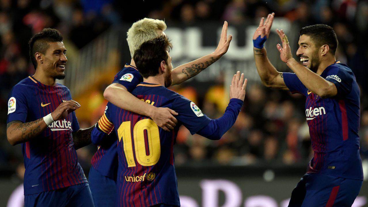 Valverde prefiere esperar a conocer el alcance de las molestias de Messi.Alineaciones Chelsea-Barcelona
