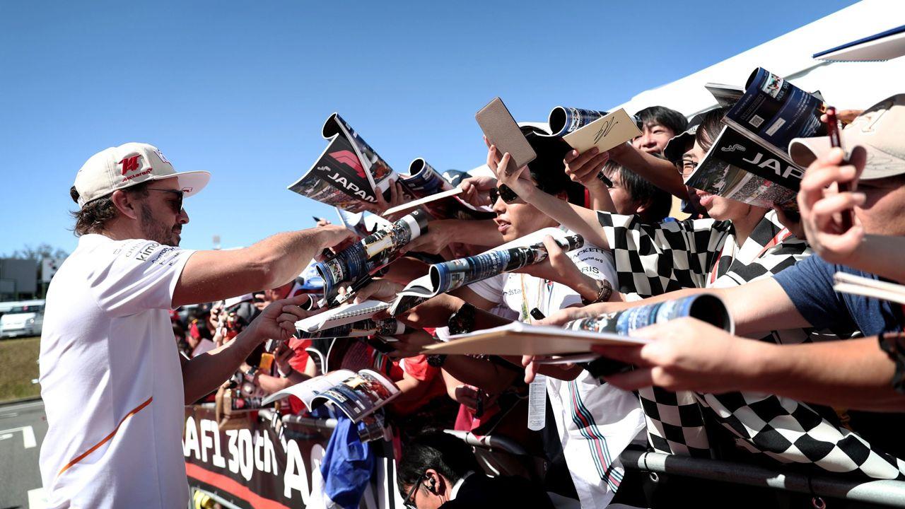 El Gran Premio de Formula uno de México en imágenes.Homenaje a Alonso en México