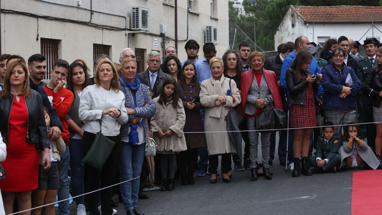 ACTO INSTITUCIONAL CASTRENSE DEL DÍA DEL PILAR EN OURENSE.Numeroso público asistió al acto