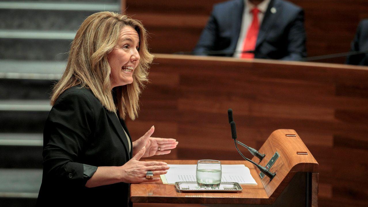 La portavoz del PP Teresa Mallada