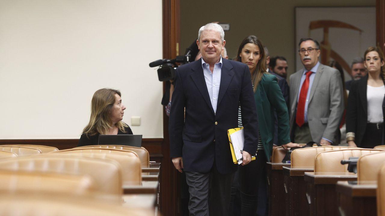 | EFE.Carlos Slim en una de sus visitas a Asturias