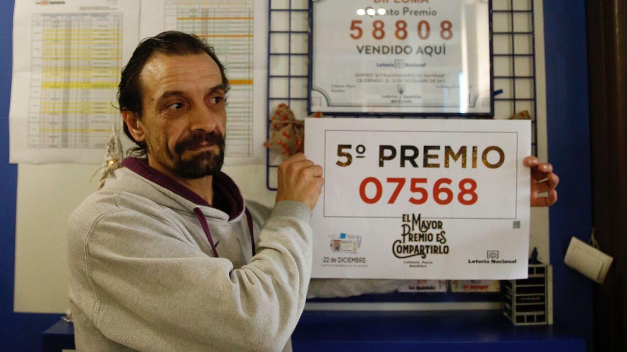 El bar Reyva de Bembibre vende un quinto premio de la Lotería de Navidad