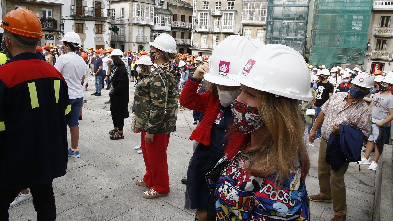 Concentración de trabajadores el domingo en Viveiro para apoyar la venta de la factoría.