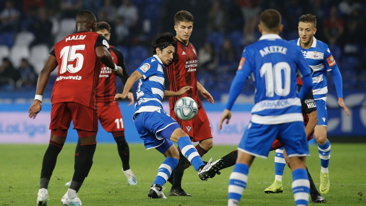 Christian Fernandez Renato Santos Malaga Real Oviedo La Rosaleda.López Garai