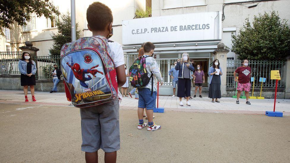 Vuelta al cole en el CEIP Barcelos