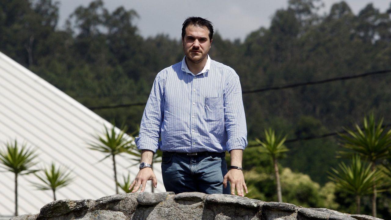 Gustavo Sobral, gerente de Mochi, en la finca Batacos, en una imagen de archivo