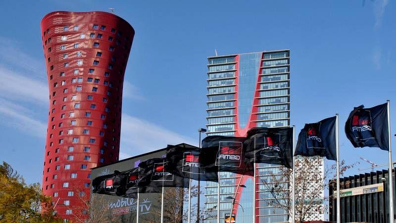Torres diseñadas por Ito en Barcelona