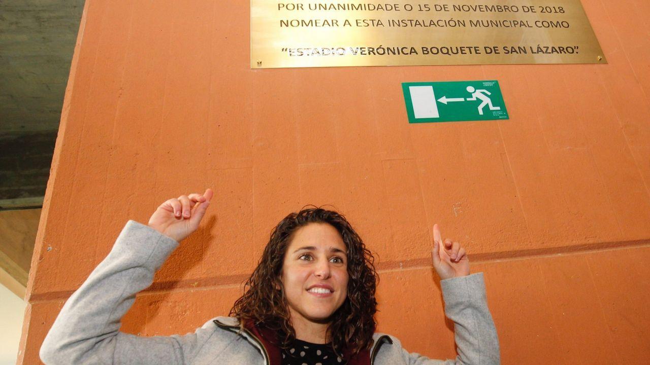 El ribeirense Luis Casais en el Rostov Arena, inaugurado hace un año para albergar partidos del Mundial