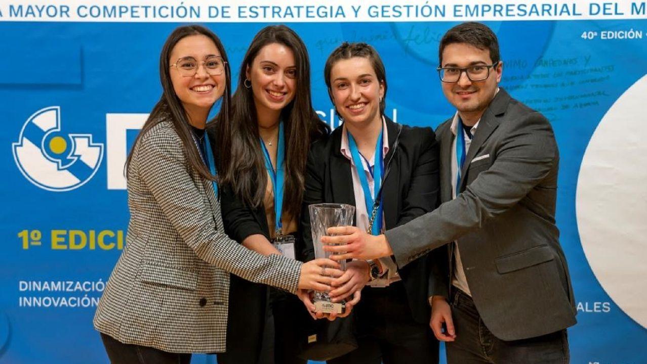 Este equipo, formado por estudiantes de máster de la EPS, se llevó el tercer premio