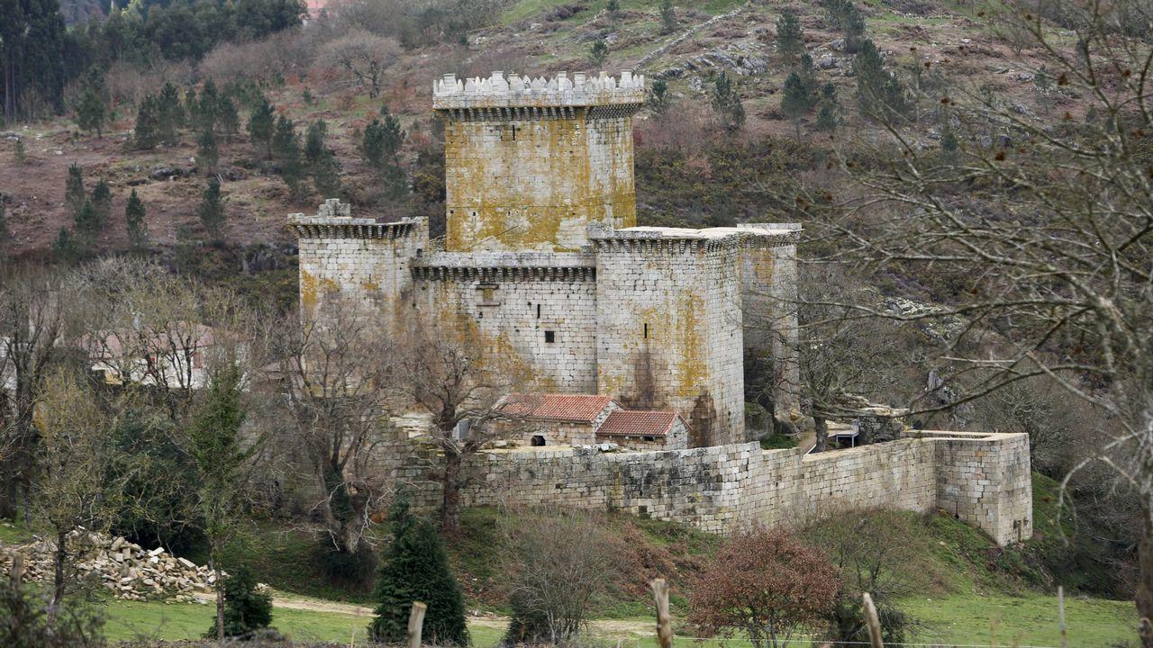 La fortaleza de Pambre, única fortaleza gallega imbatible en las Revoluciones Irmandiñas.