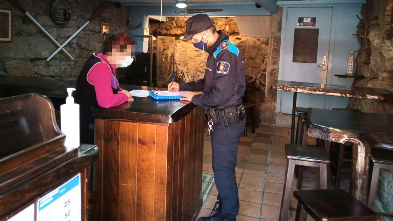 Los controles policiales confirmaron el cumplimiento de la normativa por parte de la hostelería
