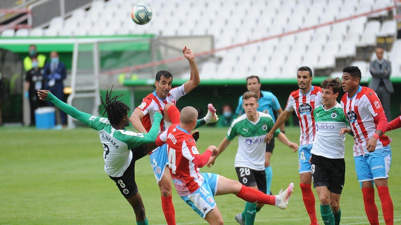 Los lucenses ganaron 1-2 en Santander