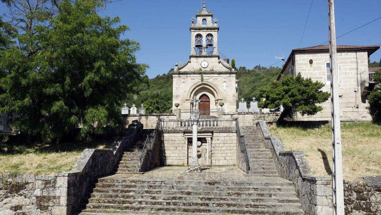 Imagen de la vendimia en uno de los viñedos de Martín Codax