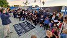 Protesta de Foanpas en Vigo