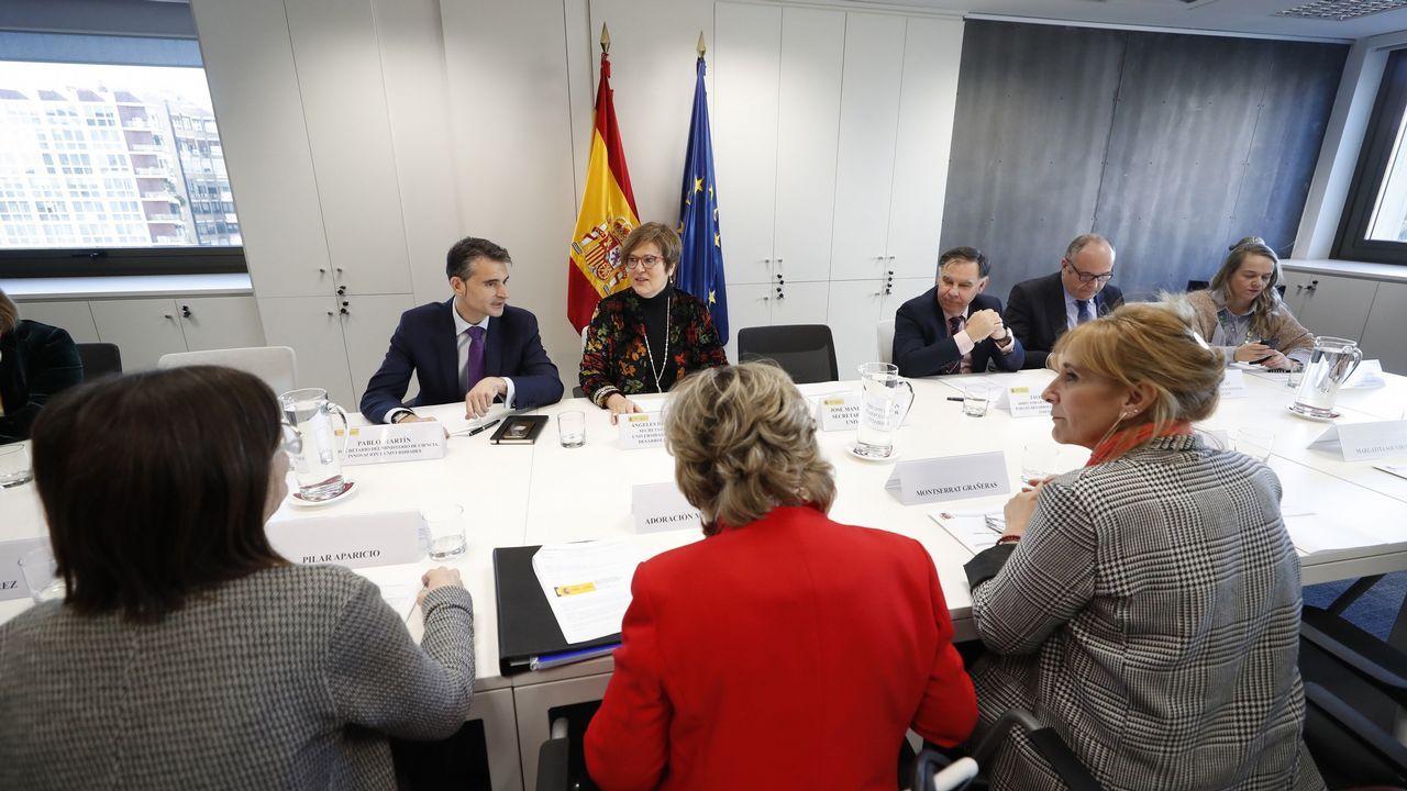La secretaria de Estado de Universidades, Ángeles Heras, preside la constitución del «Observatorio Mujeres, Ciencia e Innovación para la Igualdad de Género» en Madrid