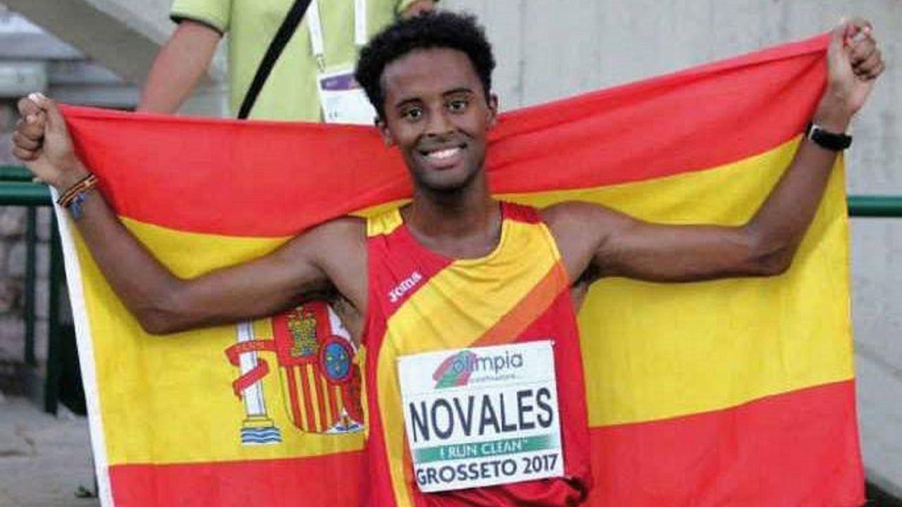 Tariku Novales. Con 21 años, es uno de los valores del mediofondo español. Campeón nacional sub-23 de 3.000 metros.