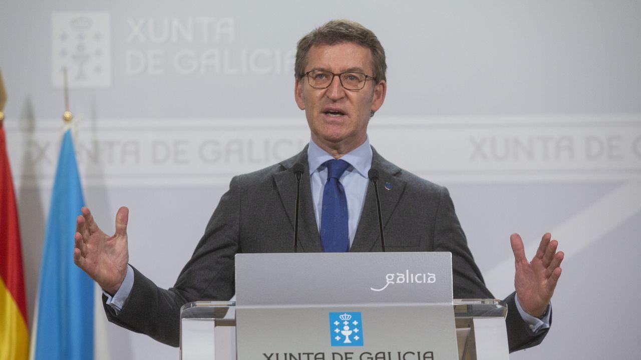 Feijoo anuncia que la Xunta prepara un plan de recuperación asistencial en el Sergas.Instalaciones en A Coruña de Ieside, el germen de la futura Universidad Intercontinental de la Empresa, de Afundación