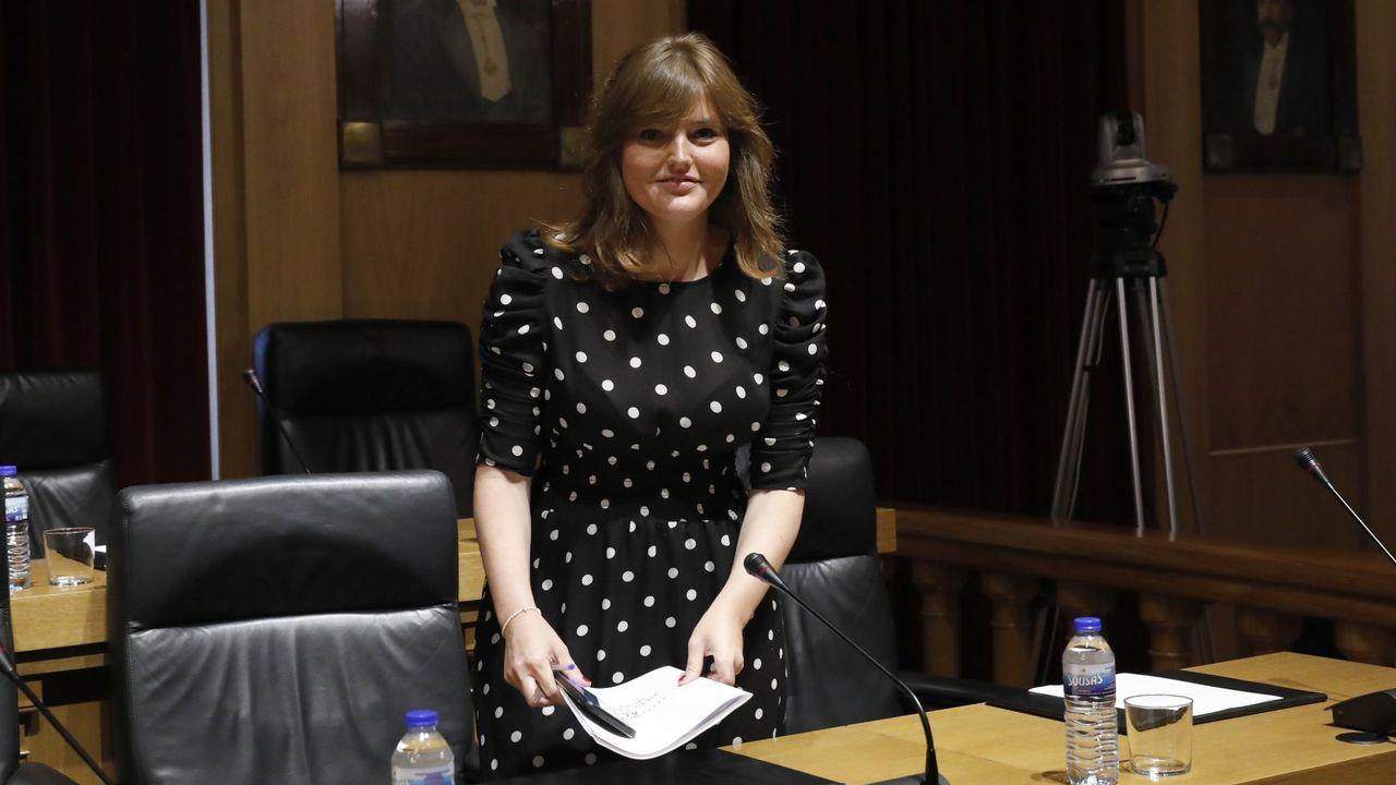 Montse Lama era la única representante de Ciudadanos en el Concello de Xinzo y la Diputación