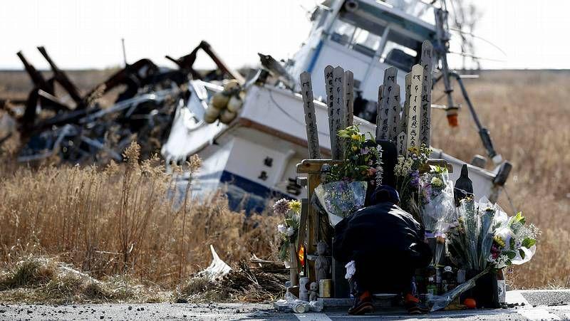 El devastador tsunami de Japón cumple 3 años